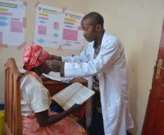 AFPDE appuie la prise en charge de cas de pathologies ophtalmologiques dans la Zone de Santé de Nundu