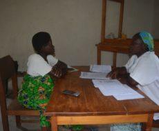 Secours aux survivantes des violences sexuelles de Kamanyola et  Kaniola dans le territoire de Walungu