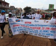 AFPDE communie avec les réfugiés et déplacés internes à l'occasion de la journée mondiale de réfugiés