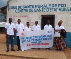 Démarrage officiel du projet Accès aux soins médicaux et WASH en faveur des réfugiés Burundais et déplacés internes en Territoire de Fizi.