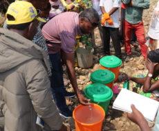 20 relais communautaires de la zone de santé de Nundu recyclés par AFPDE sur la chloration, la désinfection et la sensibilisation contre le choléra