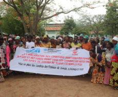 Mis en place des comités des femmes déplacées et réfugiées dans le cadre du projet « amélioration des conditions sanitaires des femmes déplacées internes et réfugiées dans les zones de santé de LEMERA, RUZIZI et NUNDU ».