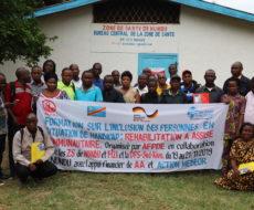 Formation sur l'inclusion des personnes en situation de handicap : réadaptation à base communautaire.