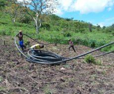 Poursuite des travaux de réhabilitation de l'adduction en eau au camp de Mulongwe dans la zone de santé de Fizi.