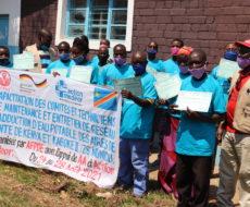 18 membres du comités de gestion d'eau KENYA et KABOKE2 renforcés en capacité par AFPDE sur la gestion des infrastructures hydrauliques et la gestion d'un comité d'eau