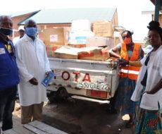 AFPDE a apporté une aide humanitaire aux réfugiés, déplacés, retournés et population vulnérable à Sange.