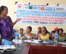Offrir aux femmes un cadre d'échanges et de partages d'informations sur la situation des femmes et le cas de violences faites aux femmes tel est l'objectif d'une plateforme créée par AFPDE avec 60 organisations et groupements de femmes de Fizi, Uvira et Walungu.